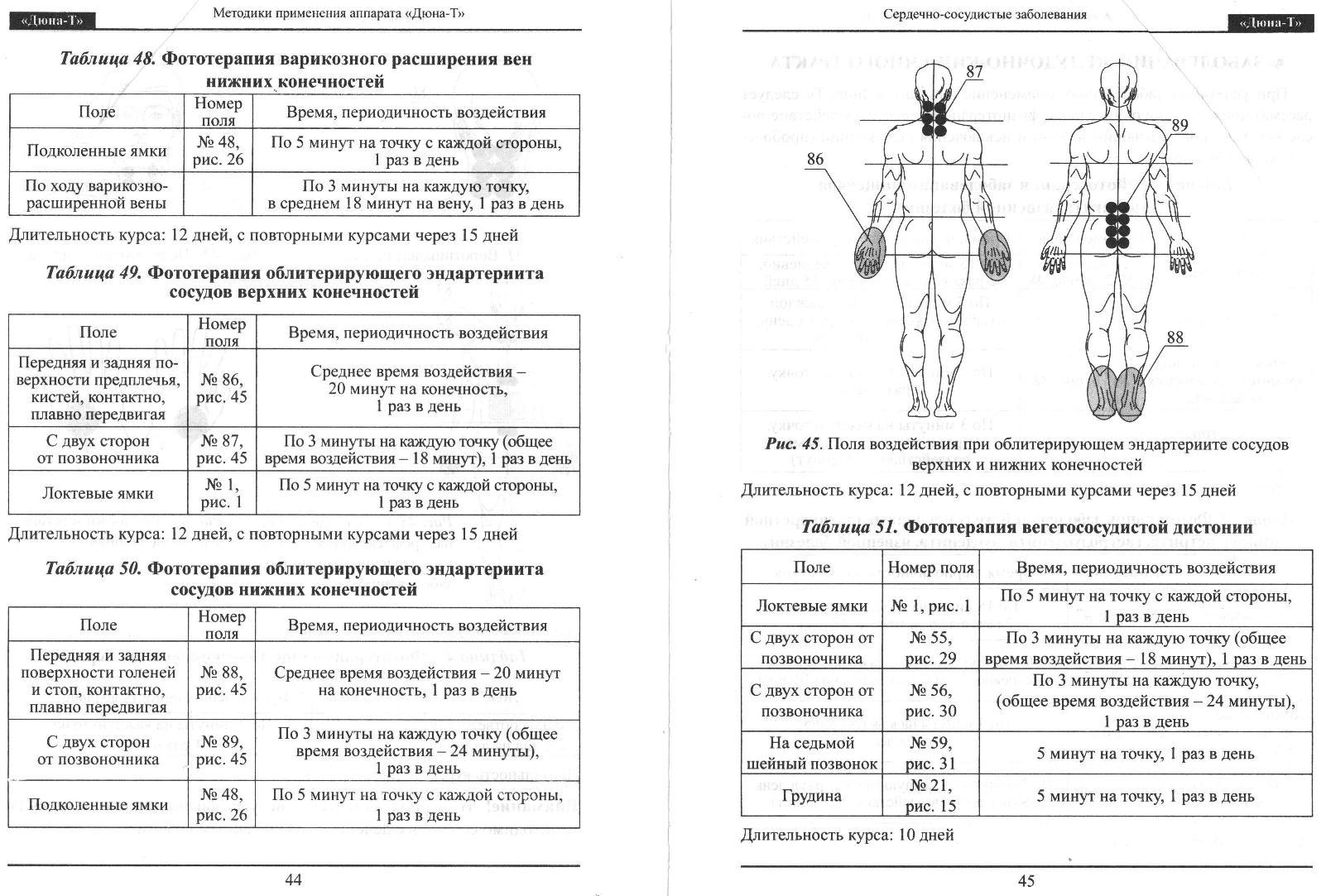 Дюна-м аппарат фототерапии инструкция